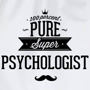 100 percent pure super Psychologe T-Shirts - Drawstring Bag