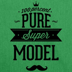 100% super model T-shirts - Skuldertaske af recycling-material