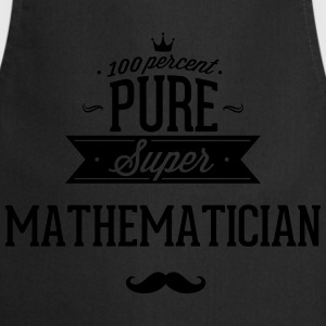 100% super mathematician T-Shirts - Cooking Apron