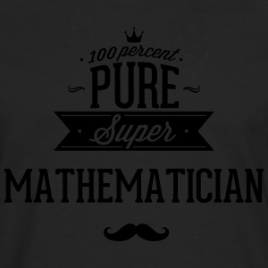 100% super mathematician T-Shirts - Men's Premium Longsleeve Shirt