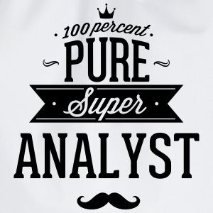 100 percent pure super analyst T-shirts - Sportstaske