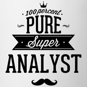 100 percent pure super analyst T-shirts - Kop/krus