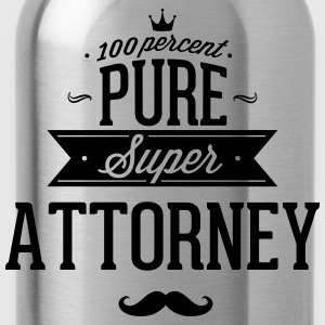 100% Super lawyer T-Shirts - Water Bottle