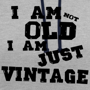 i am just vintage Tee shirts - Sweat-shirt contraste
