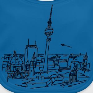 Panorama of Berlin Shirts - Baby Organic Bib