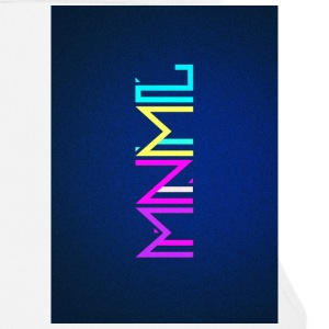 Minimal Type (Colorful) typography - phone cover Annet - Kokkeforkle
