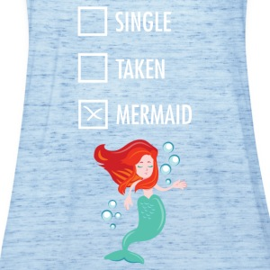 Single Taken Mermaid  Camisetas - Camiseta de tirantes mujer, de Bella