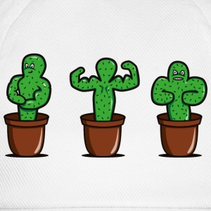 cactus with muscles Shirts - Baseball Cap