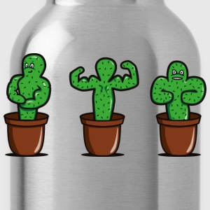 cactus con i muscoli Top - Borraccia