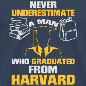 NEVER UNDERESTIMATE A MAN WITH A UNIVERSITY DEGREE Other - Men's Premium T-Shirt