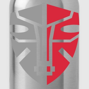 Mask Graphic Art - Water Bottle
