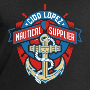 Nautical Supplier Graphic Art - Men's Sweatshirt by Stanley & Stella