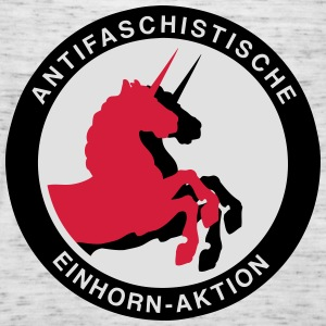 Antifaschistische Einhorn-Aktion Pullover & Hoodies - Frauen Tank Top von Bella