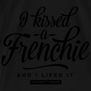 I kissed a Frenchie Pullover & Hoodies - Männer Premium T-Shirt