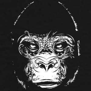Head of a gorilla Caps & Hats - Men's Premium T-Shirt