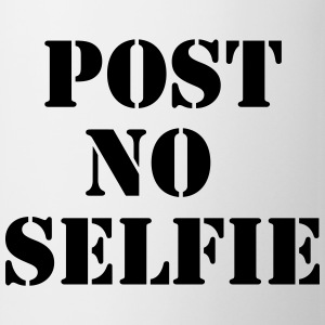 Post no Selfie T-skjorter - Kopp