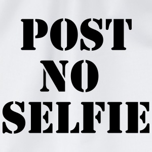 Post no Selfie T-shirts - Gymtas