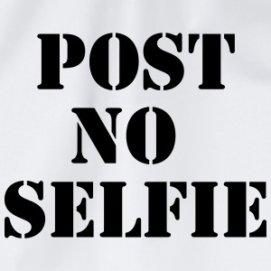 Post no Selfie T-skjorter - Gymbag