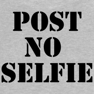 Post no Selfie Tee shirts - T-shirt Bébé