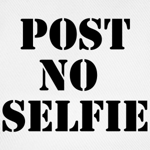 Post no Selfie T-shirts - Baseballcap