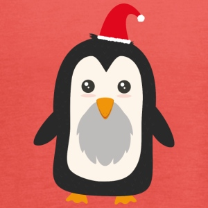 Christmas Penguin T-Shirts - Women's Tank Top by Bella