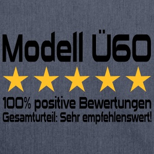 Modell Ü60 Geburtstag Pullover & Hoodies - Schultertasche aus Recycling-Material