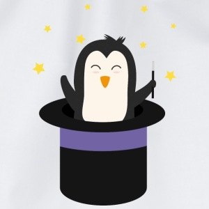 Penguin Wizard Hoodies & Sweatshirts - Drawstring Bag