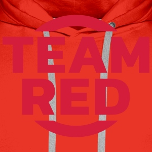 Team Red T-shirts - Premiumluvtröja herr