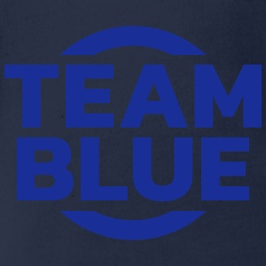 Team Blue Tee shirts - Body bébé bio manches courtes