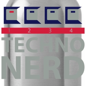 Techno Nerd T-Shirts - Water Bottle