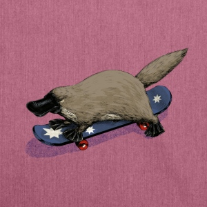 Platypus skateboard T-Shirts - Schultertasche aus Recycling-Material