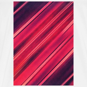 Abstract minimal texture (red/black) - Phone case Overig - Mannen Premium T-shirt