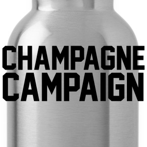 Champagne Campaign T-Shirts - Water Bottle
