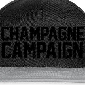 Champagne Campaign T-Shirts - Snapback Cap