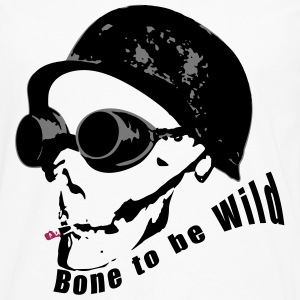 Bone to be Wild - Men's Premium Longsleeve Shirt