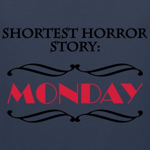 Shortes horror story: Monday Sportsklær - Premium singlet for menn
