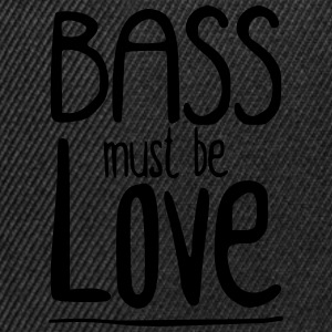 Bass must be Love Baby body - Snapback cap