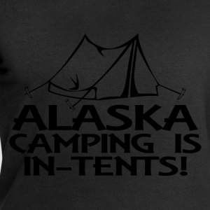 alaska camping in tents T-Shirts - Men's Sweatshirt by Stanley & Stella