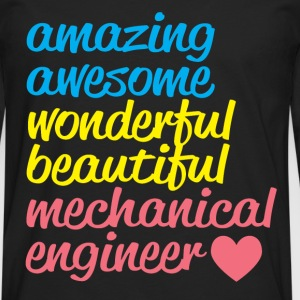 AMAZING AWESOME T-Shirts - Men's Premium Longsleeve Shirt