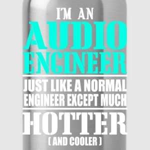 AUDIO ENGINEER T-Shirts - Water Bottle