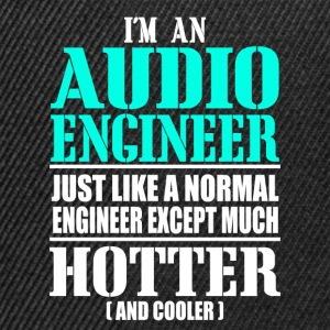AUDIO ENGINEER T-Shirts - Snapback Cap