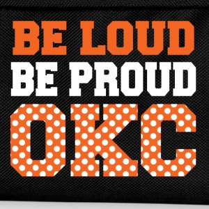be loud proud okc T-Shirts - Kids' Backpack