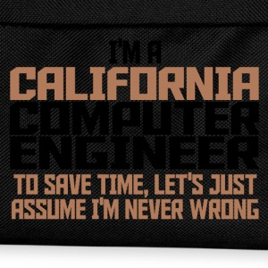 california comp engineer T-Shirts - Kids' Backpack