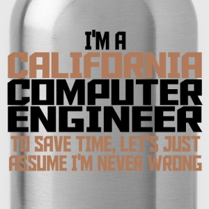 california comp engineer T-Shirts - Water Bottle