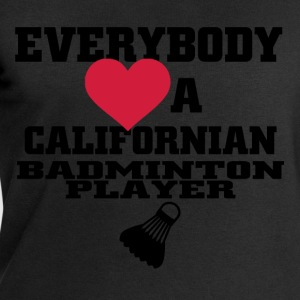 californian badminton T-Shirts - Men's Sweatshirt by Stanley & Stella