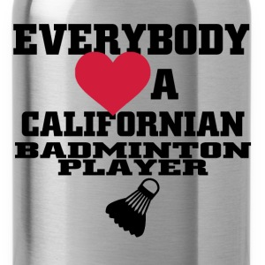 californian badminton T-Shirts - Water Bottle