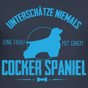 UN Cocker Spaniel Pullover & Hoodies - Männer Slim Fit T-Shirt