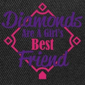 diamonds best friend T-Shirts - Snapback Cap