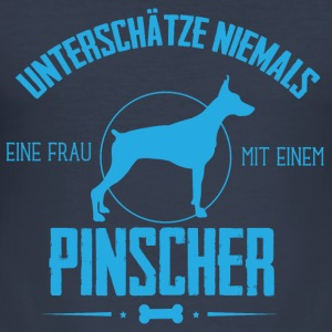 UN Pinscher Pullover & Hoodies - Männer Slim Fit T-Shirt