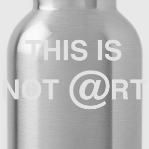 This is not art, by Caspanero T-Shirts - Water Bottle